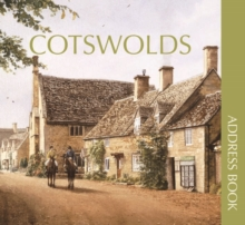 Cotswolds Address Book, Hardback Book