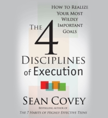 4 Disciplines of Execution, Paperback Book