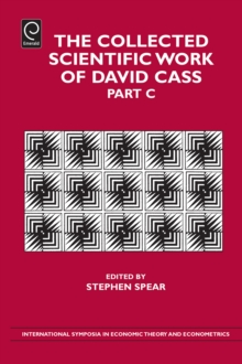 The Collected Scientific Work of David Cass, Hardback Book