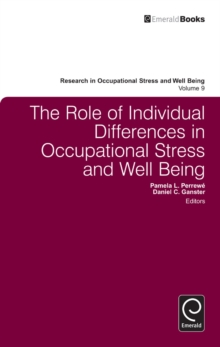 The Role of Individual Differences in Occupational Stress and Well Being, Hardback Book