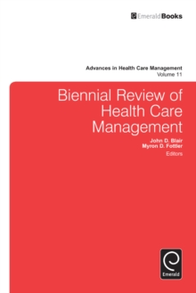 Biennial Review of Health Care Management, Hardback Book
