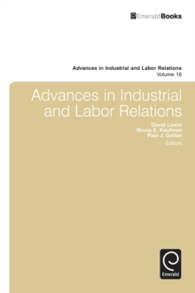 Advances in Industrial and Labor Relations, Hardback Book