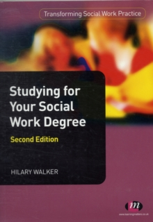 Studying for Your Social Work Degree, Paperback Book