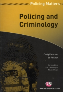 Policing and Criminology, Paperback / softback Book