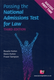 Passing the National Admissions Test for Law (LNAT), Paperback Book