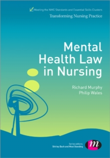 Mental Health Law in Nursing, Paperback / softback Book