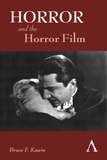 Horror and the Horror Film, Hardback Book