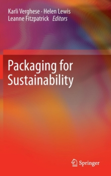 Packaging for Sustainability, Hardback Book