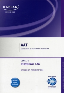Personal Tax - Revision Kit, Paperback / softback Book