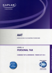 Personal Tax (FA 2011) - Combined Text and Workbook, Paperback Book