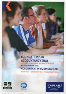 FAB Accountant in Business - Study Text, Paperback Book