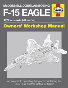 McDonnell Douglas/Boeing F-15 Eagle Manual, Hardback Book