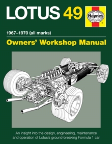 Lotus 49 Manual, Hardback Book