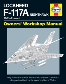 Lockheed F-117 Nighthawk 'Stealth Fighter' Manual, Hardback Book