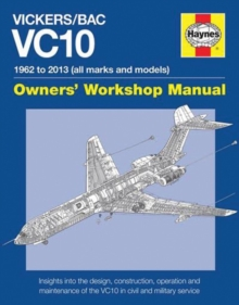 Vickers/Bac Vc10 Manual : All models and variants, Hardback Book