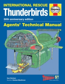 Thunderbirds Manual 50Th Anniversary Edition : TB1-TB5, Tracy Island and associated vehicles, Paperback Book
