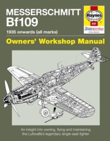 Messerschmitt BF109 Manual, Paperback Book