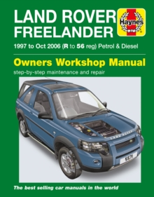 Land Rover Freelander 97-06, Paperback / softback Book