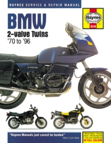 BMW 2-Valve Twins Service and Repair Manual, Paperback Book