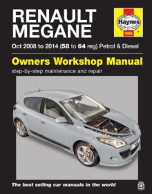 Renault Megane (Oct '08-'14) 58 To 64, Paperback / softback Book