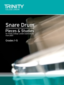 Percussion Exam Pieces & Studies Snare Drum Book 1: Grades 1-5, Sheet music Book