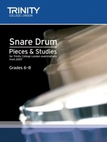 Percussion Exam Pieces & Studies Snare Drum Book 2: Grades 6-8, Sheet music Book
