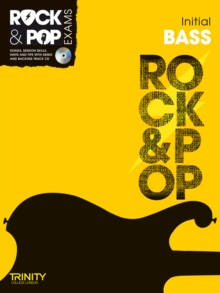 Trinity Rock & Pop Exams: Bass Initial Grade, Mixed media product Book