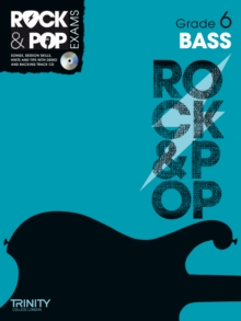 Trinity Rock & Pop Exams: Bass Grade 6, Mixed media product Book