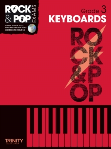 Trinity Rock & Pop Exams: Keyboards Grade 3, Mixed media product Book