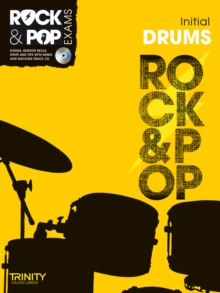 Trinity Rock & Pop Exams: Drums Initial Grade, Mixed media product Book