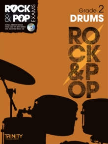 Trinity Rock & Pop Exams: Drums Grade 2, Mixed media product Book