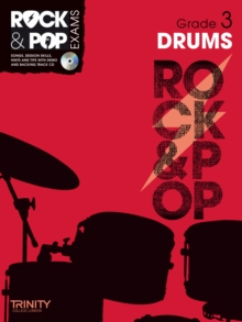 Trinity Rock & Pop Exams: Drums Grade 3, Mixed media product Book