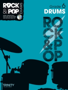 Trinity Rock & Pop Exams: Drums Grade 6, Mixed media product Book