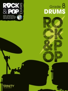 Trinity Rock & Pop Exams: Drums Grade 8, Mixed media product Book