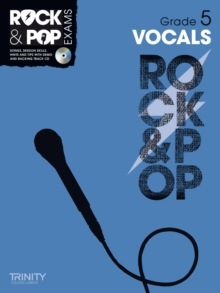 Trinity Rock & Pop Vocals Grade 5, Mixed media product Book