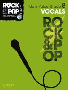 Trinity Rock & Pop Exams: Vocals Grade 8 (Male Voice), Mixed media product Book