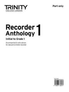 Recorder Anthology 1 Initial-Gr.1 (part), Sheet music Book