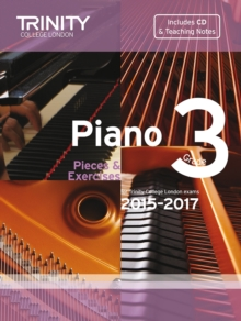 Piano 2015-2017. Grade 3 (with CD), Sheet music Book