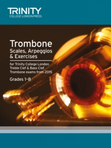 Trombone Scales Grades 1-8 from 2015, Paperback / softback Book