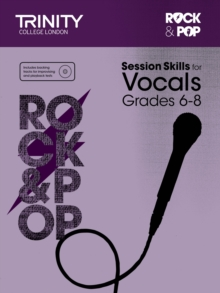 Session Skills for Vocals Grade 6-8, Sheet music Book