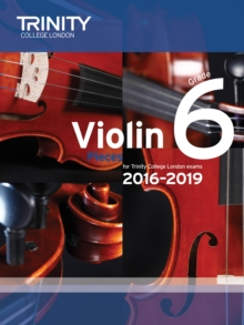 Violin Exam Pieces Grade 6 2016-2019, Sheet music Book