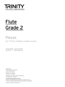 Flute Exam Pieces Grade 2 2017 2020 (Part Only), Paperback Book