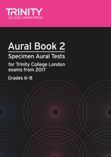 Aural Tests Book 2 from 2017 (Grades 6 8), Mixed media product Book