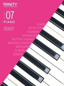 Trinity College London Piano Exam Pieces & Exercises 2018-2020. Grade 7, Sheet music Book