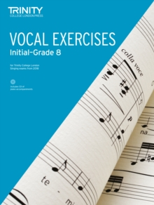 Trinity College London Vocal Exercises from 2018 Grades Initial to Grade 8, Sheet music Book