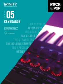 Trinity Rock & Pop 2018 Keyboards Grade 5, Sheet music Book