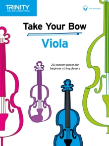 Take Your Bow: Viola, Sheet music Book