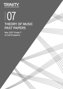 Trinity College London: Past Papers: Theory (May 2017) Grade 7, Paperback / softback Book