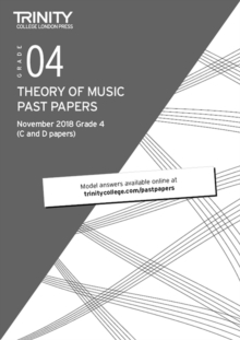 Trinity College London Theory of Music Past Papers (Nov 2018) Grade 4, Paperback / softback Book