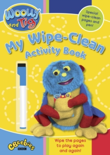 Woolly and Tig : My Wipe-Clean Activity Book, Paperback Book
